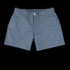 Officine Generale - Roman Vintage Pola Dot Swim Trunk in Navy & Grey