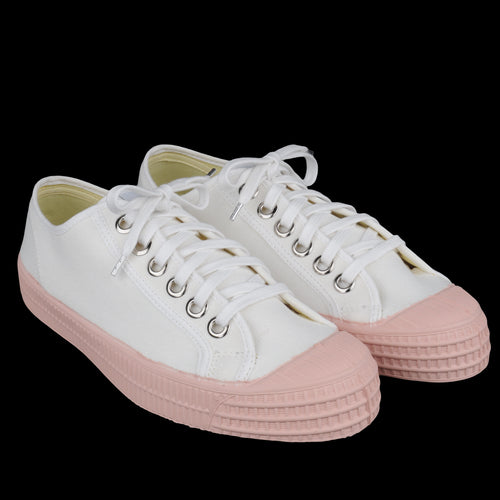 Star Master Color Sole in White & Pink