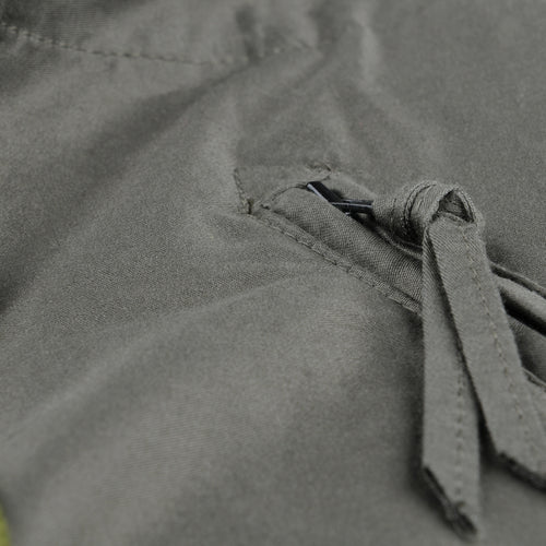 Cotton Moleskin Zipped BDU Pant in Olive