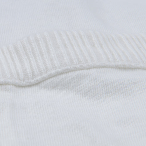 7oz Jersey Rib Pocket Tee in White