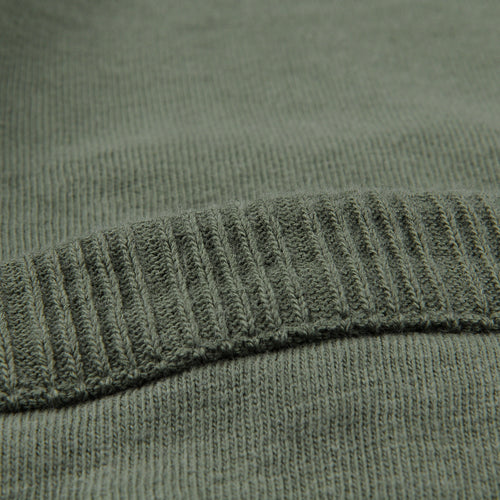 7oz Jersey Rib Pocket Tee in Army Green