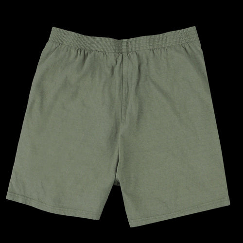 7oz Jersey Track Short in Army Green