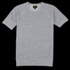 National Athletic Goods - Lightweight Terry Short Sleeve Raglan Warm Up in Grey Haze