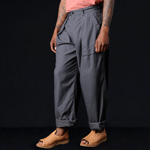 Vancloth Poplin Utility Pant in Charcoal