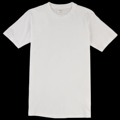 Lady White Co. - Lite Jersey Tee in White