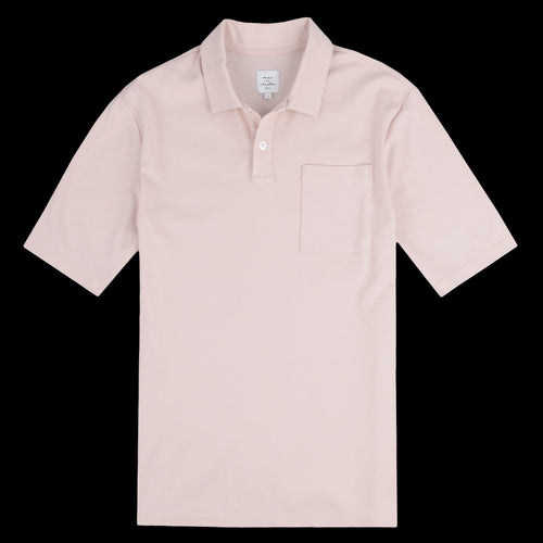 Crispen Polo in Blush