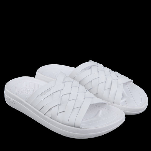 Zuma Vegan Leather in White