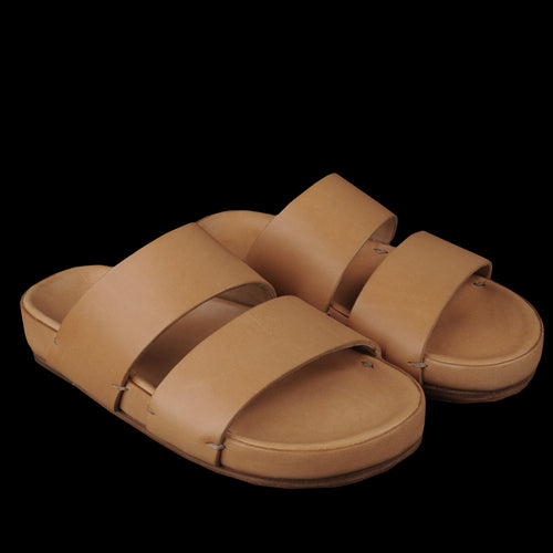 W Sandal in Natural