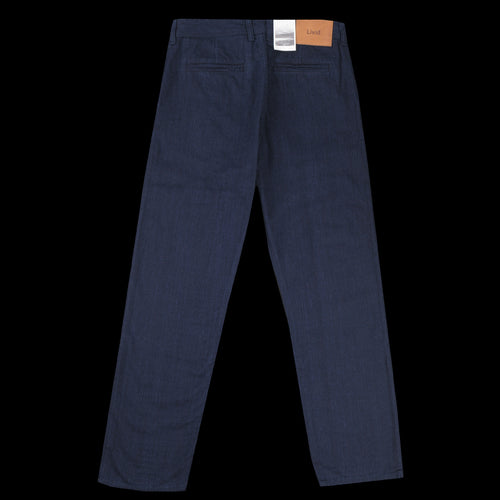 Tue Straight Jean in Indigo Bonded Twill