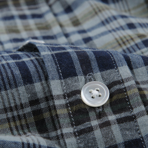 Pal Shirt in Madras Indigo