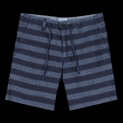Hartford - Berry Short in Indigo Chambray Ethnic