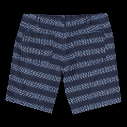 Berry Short in Indigo Chambray Ethnic