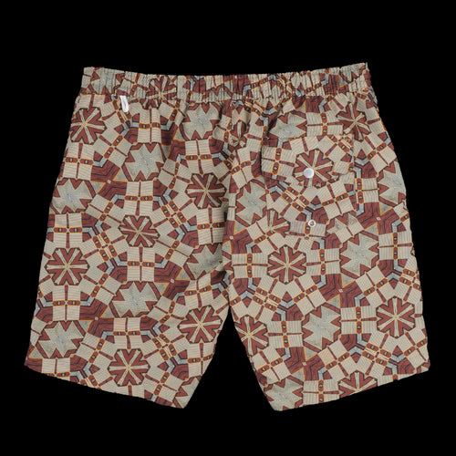 Kuta Swimshort in Brown African