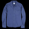Home Work - Herringbone Overshirt in Blue