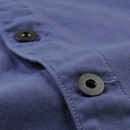 Twill Work Jacket in Blue