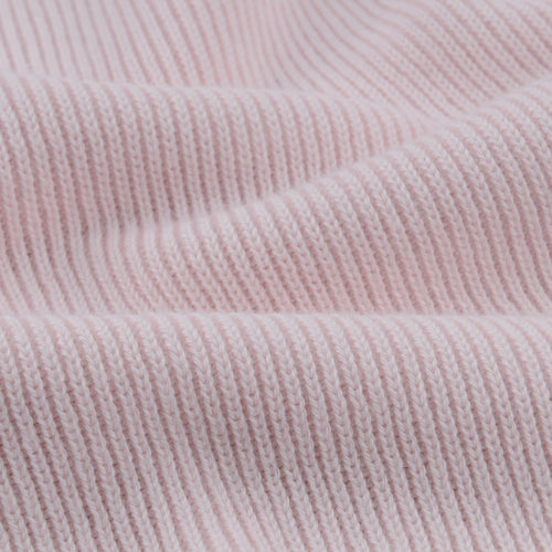 Masterwork Cotton Sweater in Light Pink
