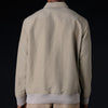 Deveaux - Dyed Silk Linen Pullover in Taupe