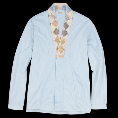 Kapital - Soft Hickory x Quilt Remake Bonze Hiyoku Shirt in Hickory