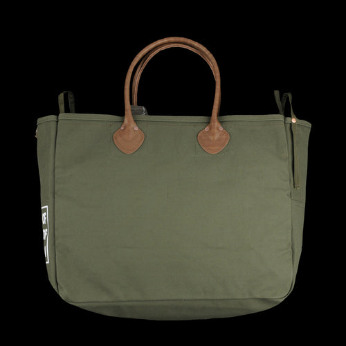 Medium No. 4 Army Canvas Milk Bag in Khaki