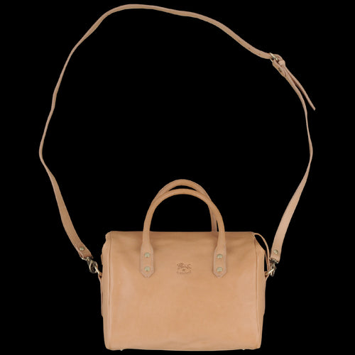Cowhide Boston Bag in Naturale