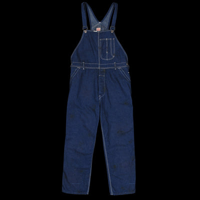 f0f667304a2 Chimala - Old Nep Denim Overall in Distressed Rinse - UNIONMADE