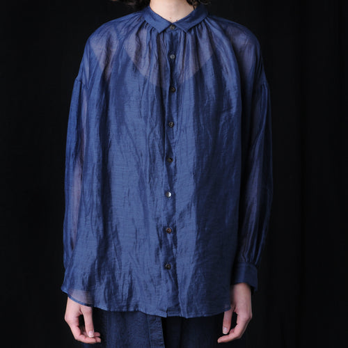 Suzuka Blouse in Navy