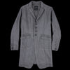 Pas De Calais - Coat in Charcoal
