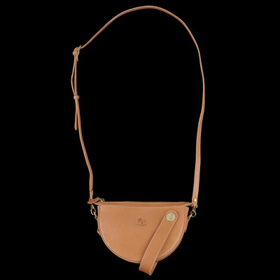 Il Bisonte - Pianosa Crossbody Wristlet in Naturale
