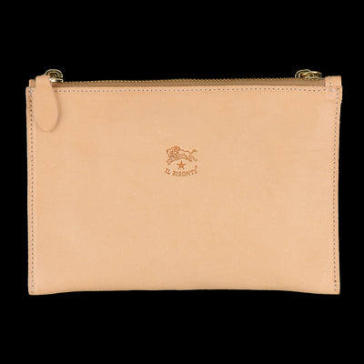 Il Bisonte - Talamone Clutch in Naturale