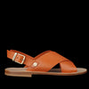 Il Bisonte - Versilia Cross Sandal in Caramel