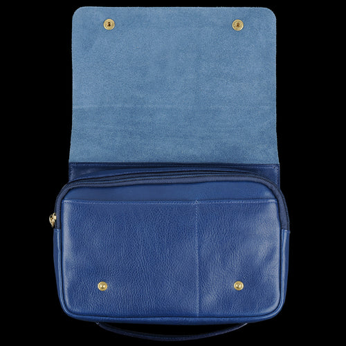 Talamone Clutch in Blu