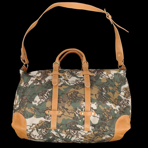 Large Capraia Travel Bag in Bosco & Naturale Camouflage