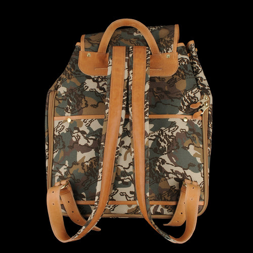Camaiore Backpack in Bosco & Naturale Camouflage