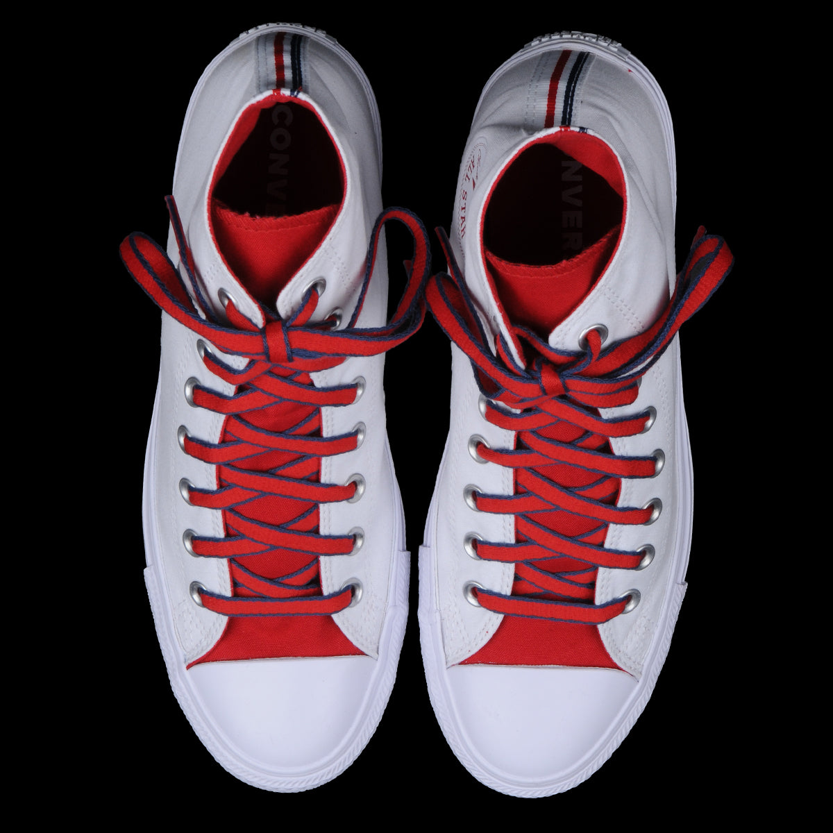 0be7e8a9c4bac3 Converse - Chuck Taylor All Star Hi in White Gym Red   Navy - UNIONMADE