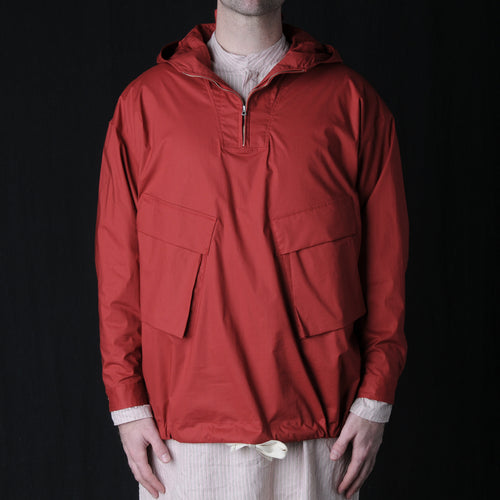 Typewriter Anorak in Red