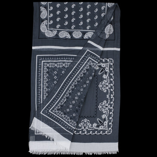 Cashcot Bandana Stola in Grey