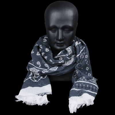 Destin - Cashcot Bandana Stola in Grey