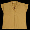 Black Crane - Box Shirt in Mustard