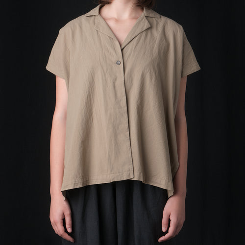 Box Shirt in Sage