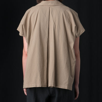 Black Crane - Box Shirt in Sage