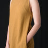 Black Crane - Multi Dress in Mustard