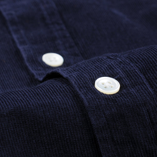 Field LS Shirt in Navy Corduroy