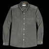 Far Afield - Field LS Shirt in Beetle Green Corduroy