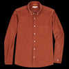 Far Afield - Field LS Shirt in Brick Corduroy
