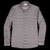 Far Afield - Mod Button Down L/S Shirt in Pigeons