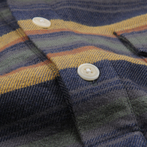 Pocket Popover LS Shirt in Hac Stripe