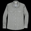 Far Afield - Workwear LS Shirt in Beetle Green