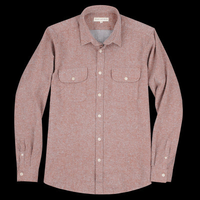 Far Afield - Workwear LS Shirt in Brick