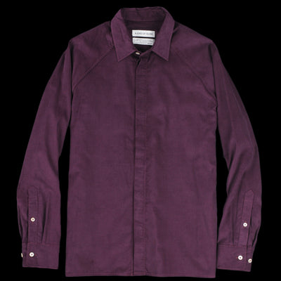 A Kind Of Guise - Lahan Shirt in Burgundy