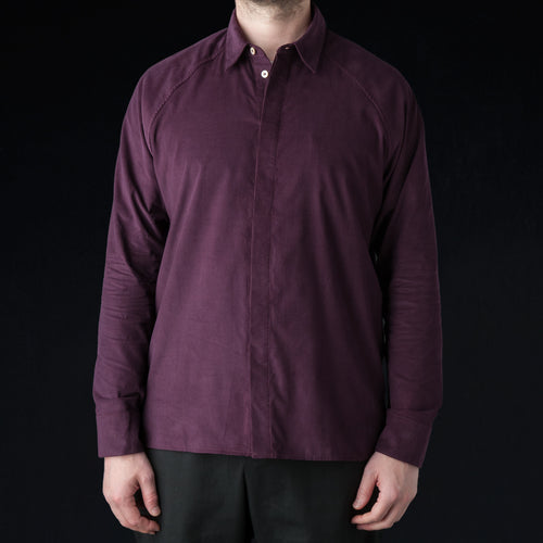 Lahan Shirt in Burgundy